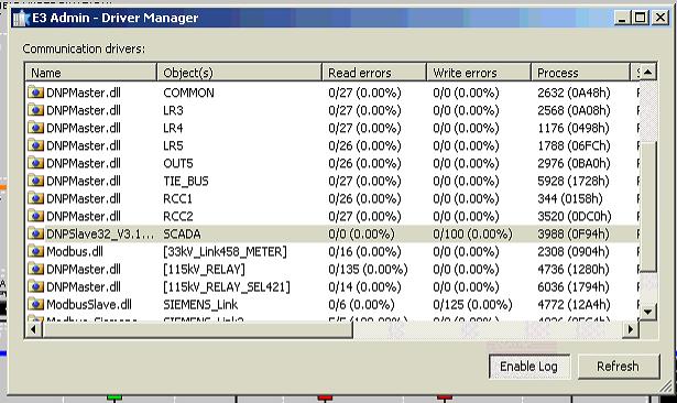 CSCS Elipse ; Enable Driver Log file